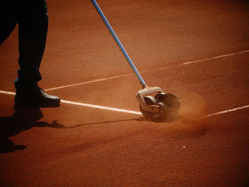 Tennisverein Arbeitseinsatz