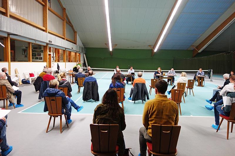 mitgliederversammlung tennisverein